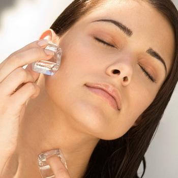 Очистить кожу уксусом