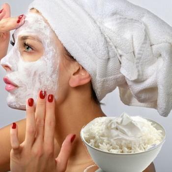 Использование риса в домашней косметологии